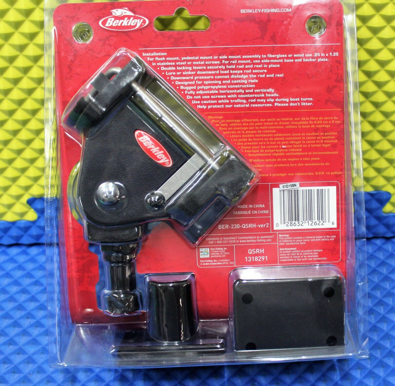 Berkley Fishin' Gear Quick Set Rod Holder QSRH 1318291