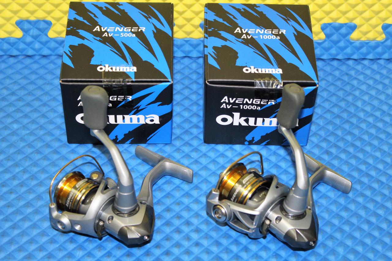 Okuma Avenger Spinning Reels AV -500a, AV-1000a CHOOSE YOUR MODEL!