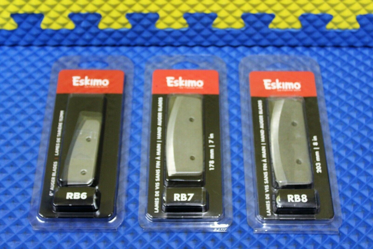 Eskimo Hand Auger Replacement Blades RB CHOOSE YOUR SIZE!