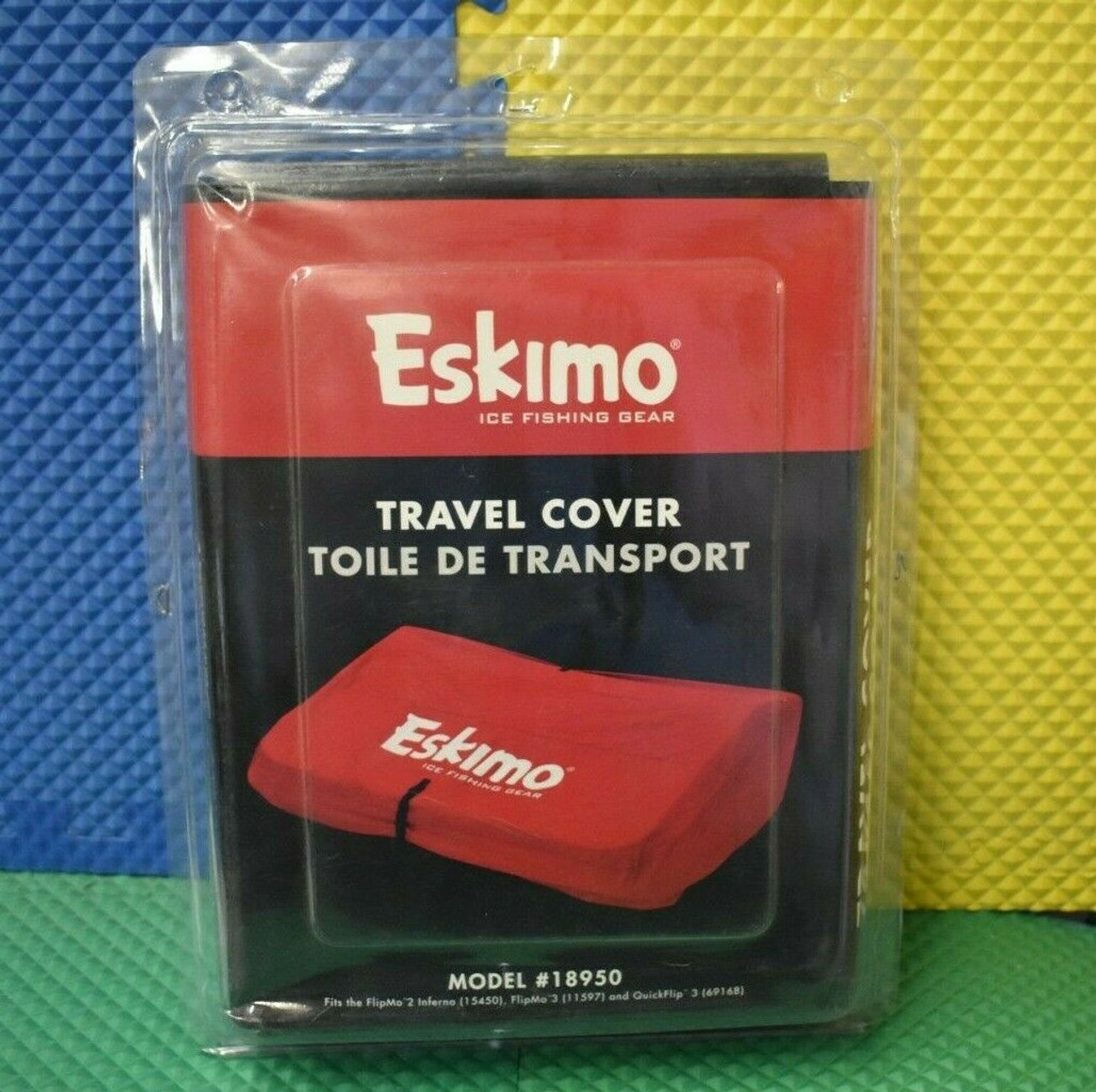 Eskimo Ice Fishing Gear 70 Inch Travel Cover Extra Tall #18950