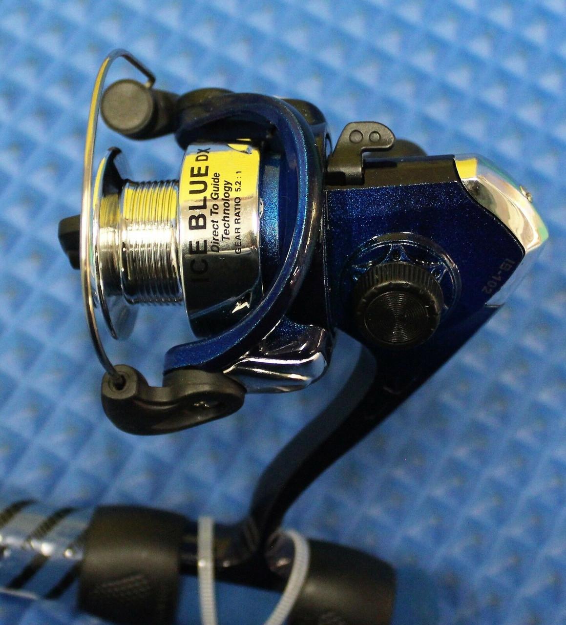 "HT 24/"" Ice Blue Ultra Light Combo Panfish MFR-1 Reel /& IB-24 Rod - TWO Combos"