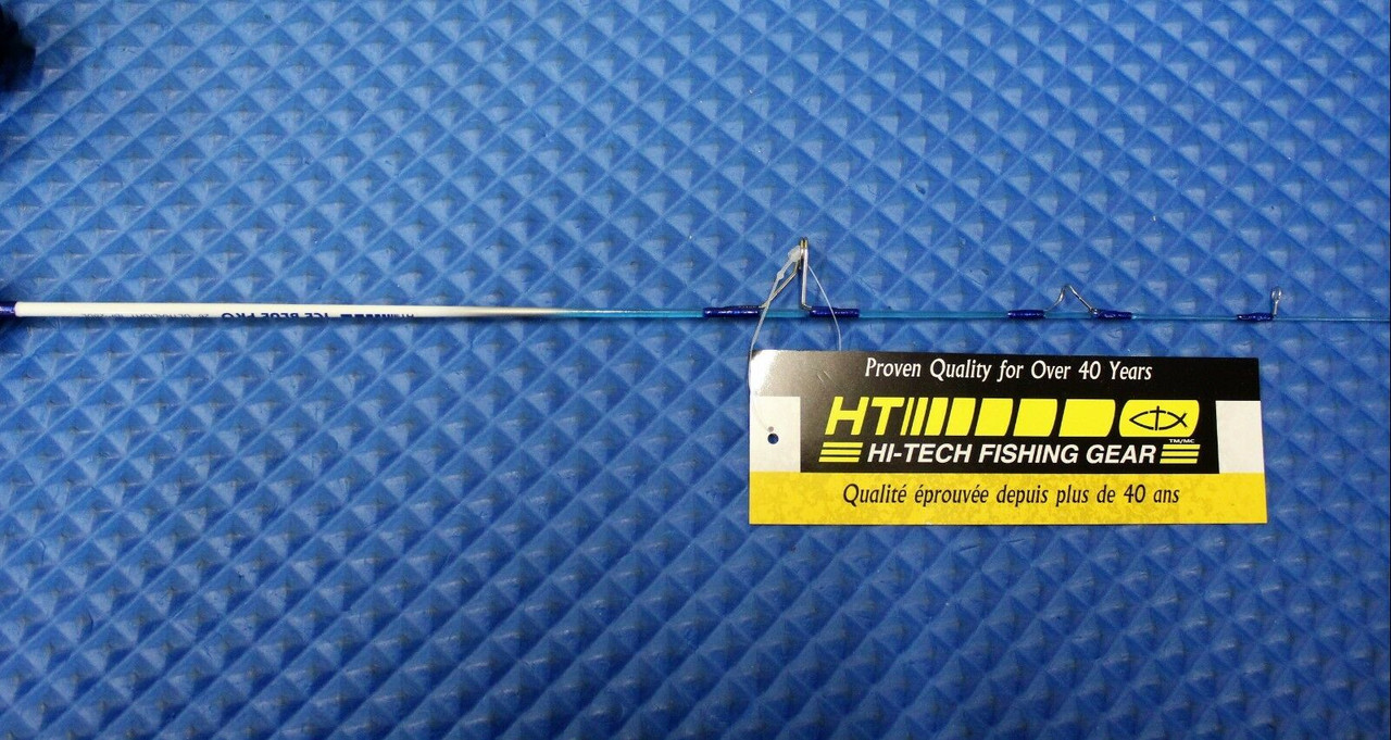 "HT Ice Blue PRO 26"" Ultra Light Ice Fishing COMBO With DNB-102 Reel IBP-26ULSC"