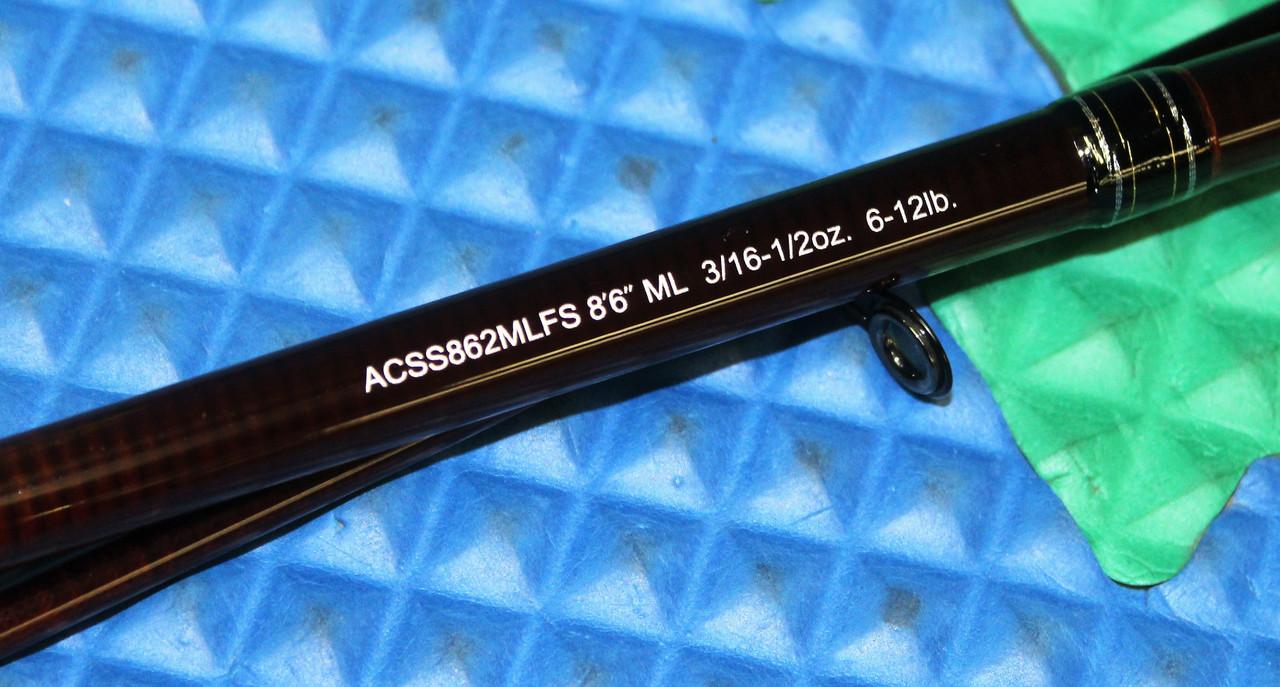 ACSS862MLFS Spinning Rods