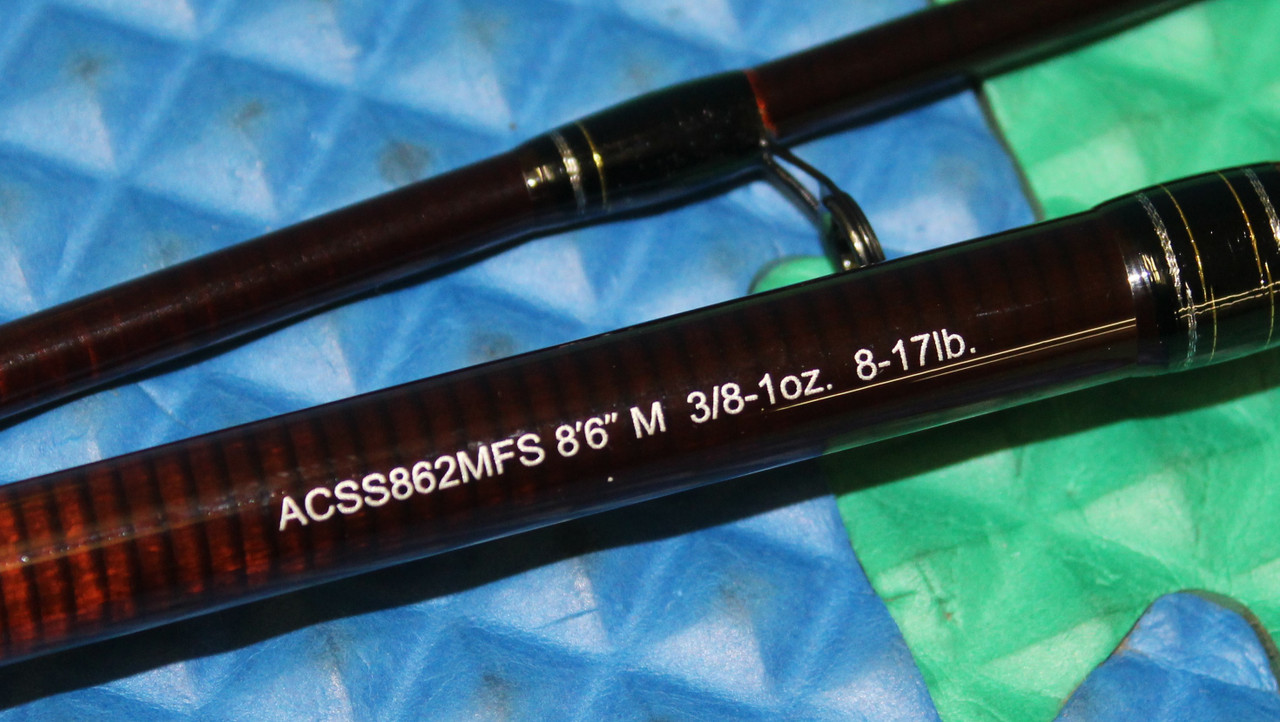 ACSS862MFS Spinning Rods