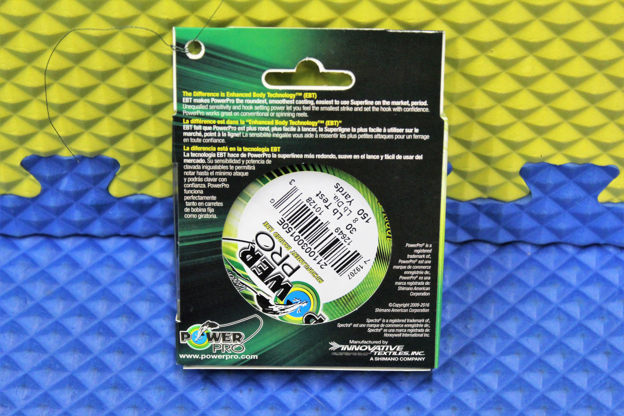 PowerPro Spectra Micro Braided Fishing Line 150 Yard Moss Green CHOOSE YOUR LINE WEIGHT