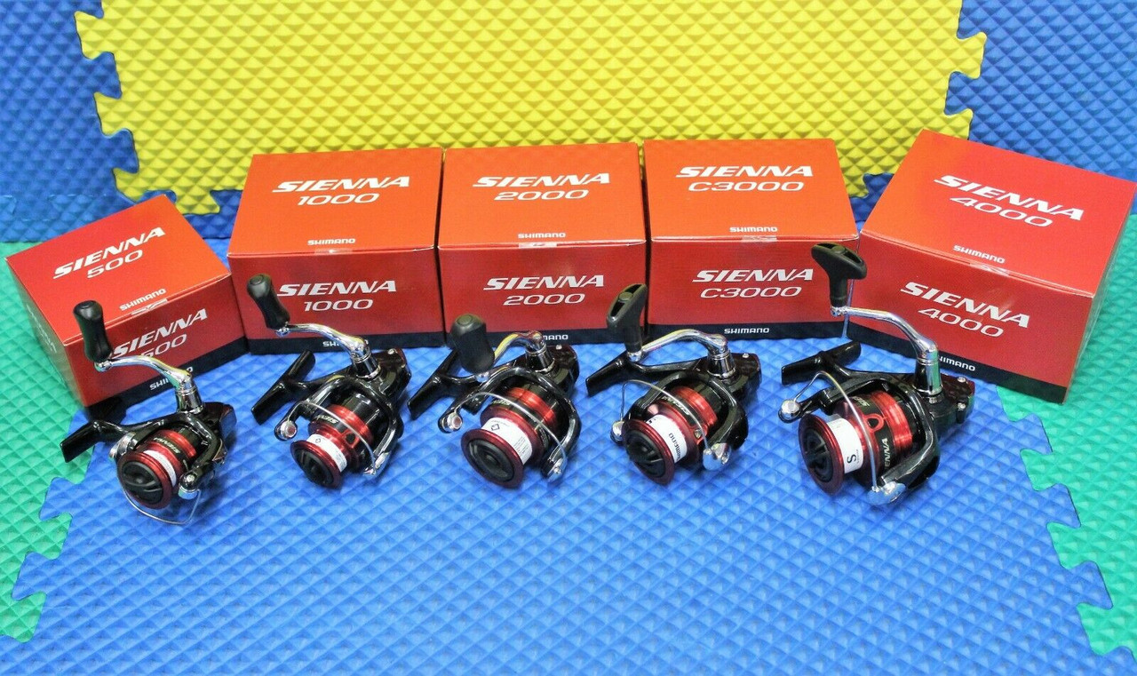 Shimano Sienna Spinning Front Drag Reels SN-FG Series CHOOSE YOUR MODEL!