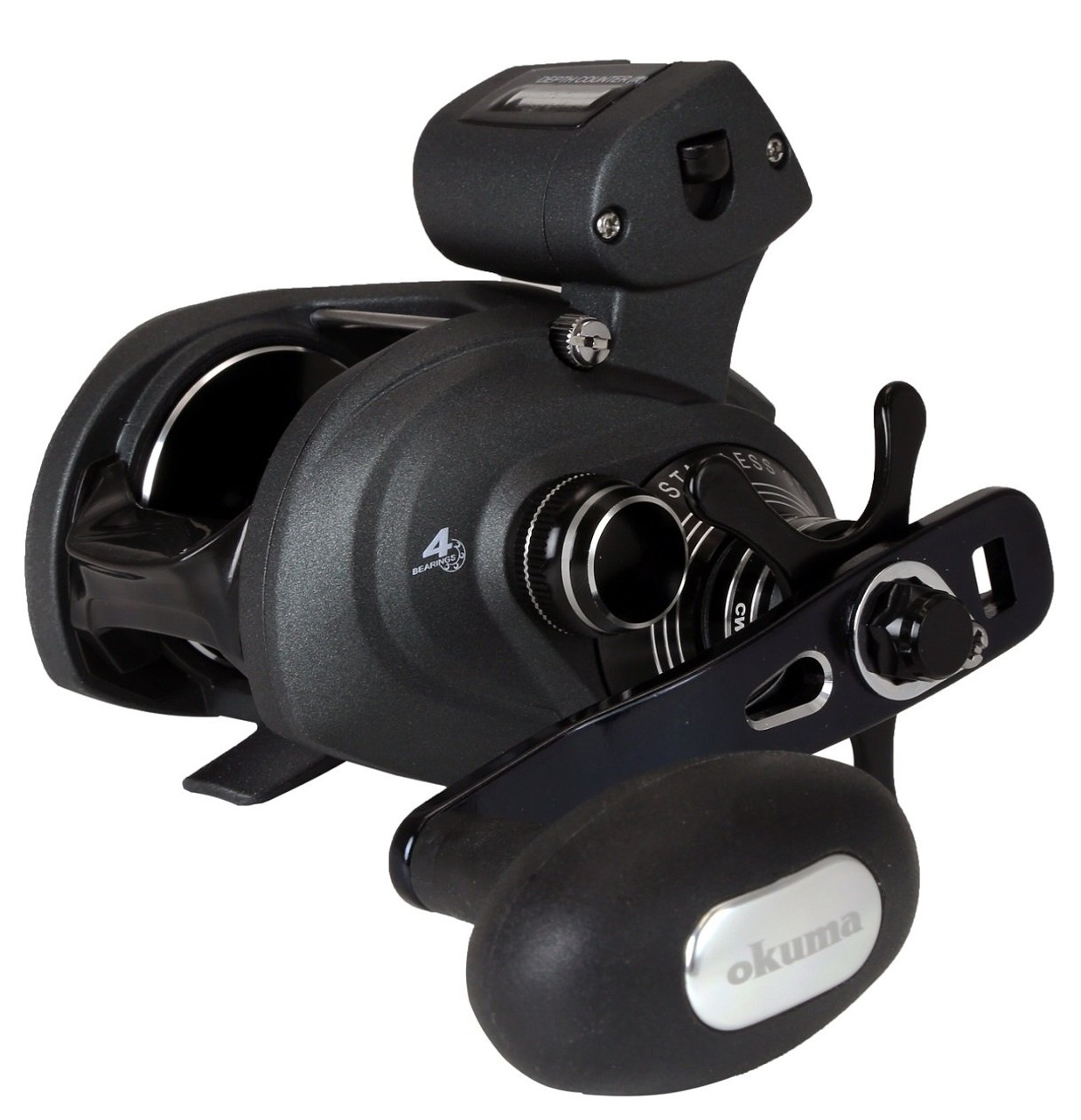 Okuma Cold Water SS Low Profile Baitcast Line Counter Trolling Reels CHOOSE YOUR MODEL!