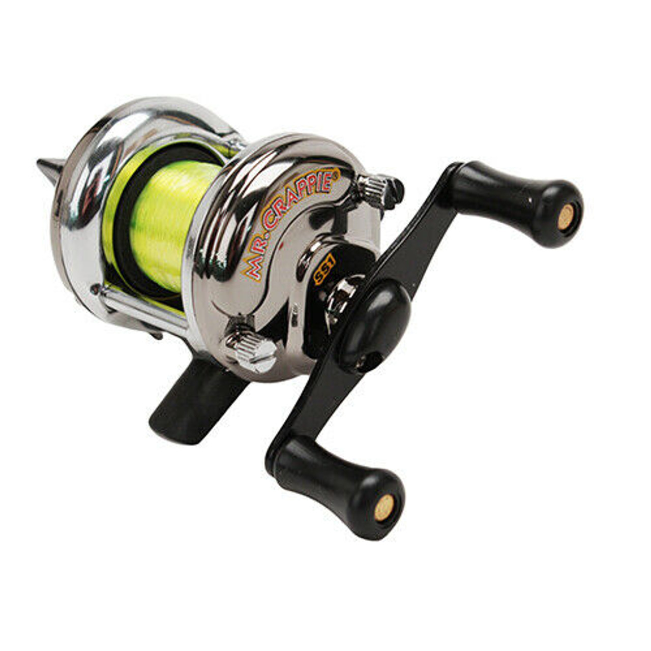 Mr. Crappie Slab Shaker Crappie Reel Pre-spooled With Premium Line SS1
