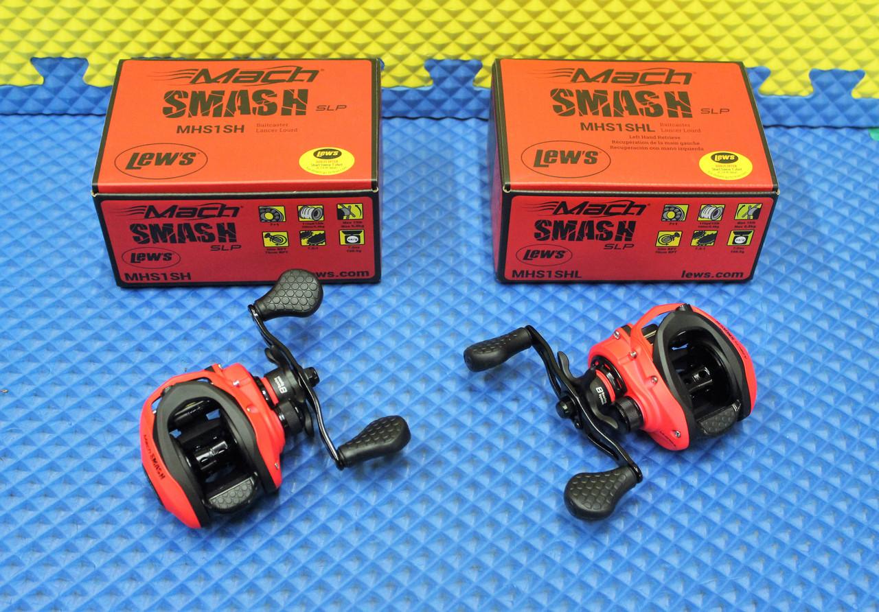 Lew's Mach Smash SLP Baitcaster Reel 8 Bearing System MHS-SH CHOOSE YOUR MODEL!