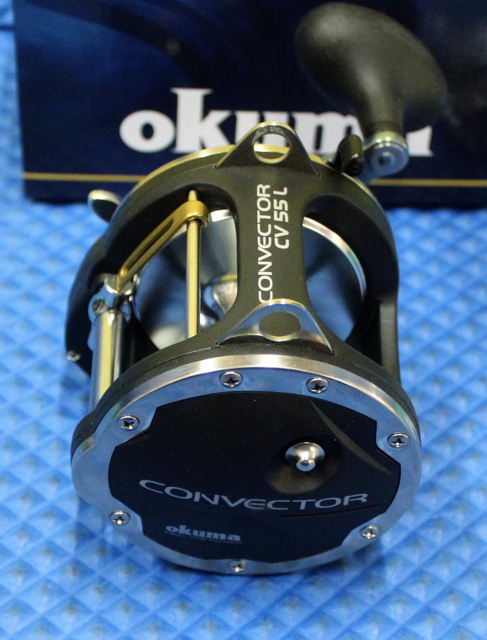 Okuma Convector Star Drag Levelwind Trolling Reel With Dragmasters Washers CV 55L