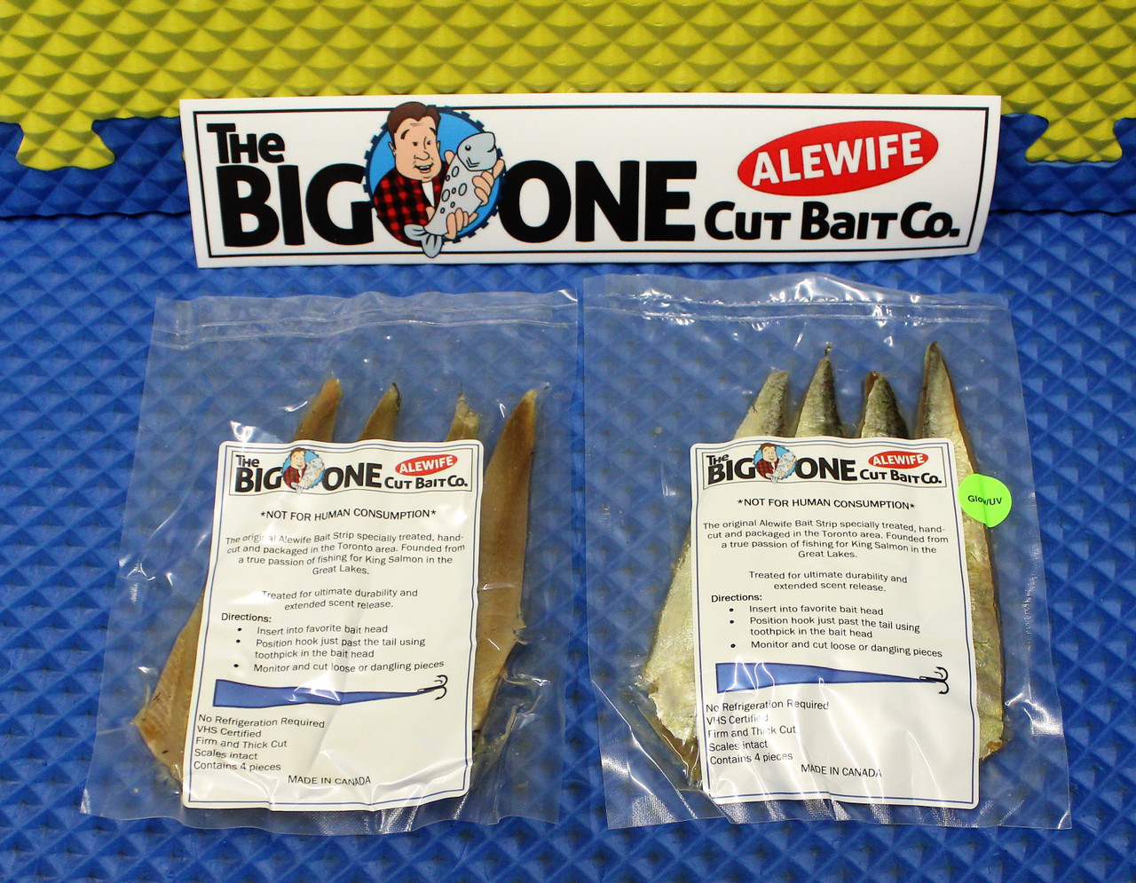 The Big One Cut Bait Co. Alewife CHOOSE YOUR CUT!