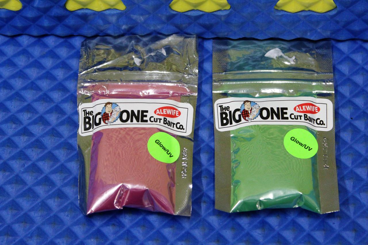 The Big One Cut Bait Co. Alewife 2oz UV Glow Brine CHOOSE YOUR COLOR!