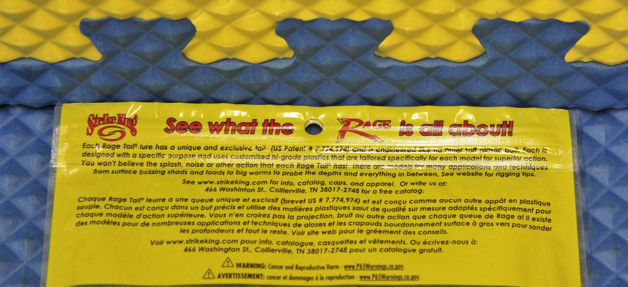 Strike King Rage Ned Bug 2 1//2 inch Ned Rig Soft Plastic Creature Bait Bass Bait