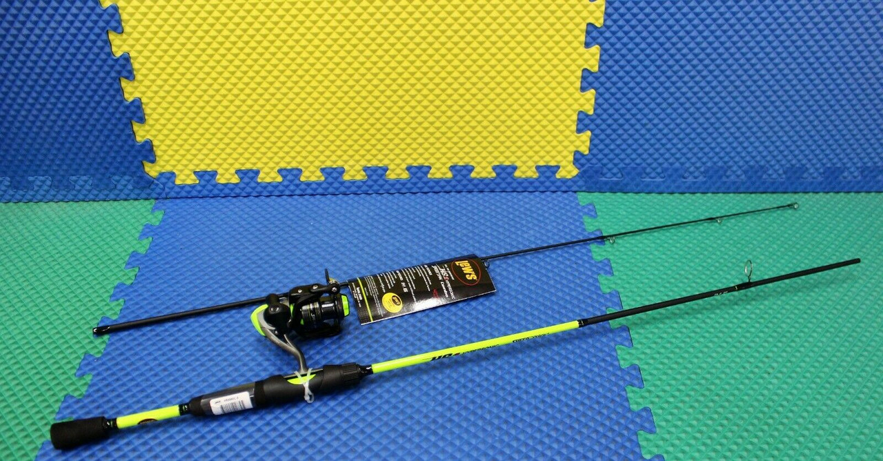"""Lew's Hypersonic Speed Spin Combo 6' 0"""" Rod HS200 Reel HS2060L-2"""