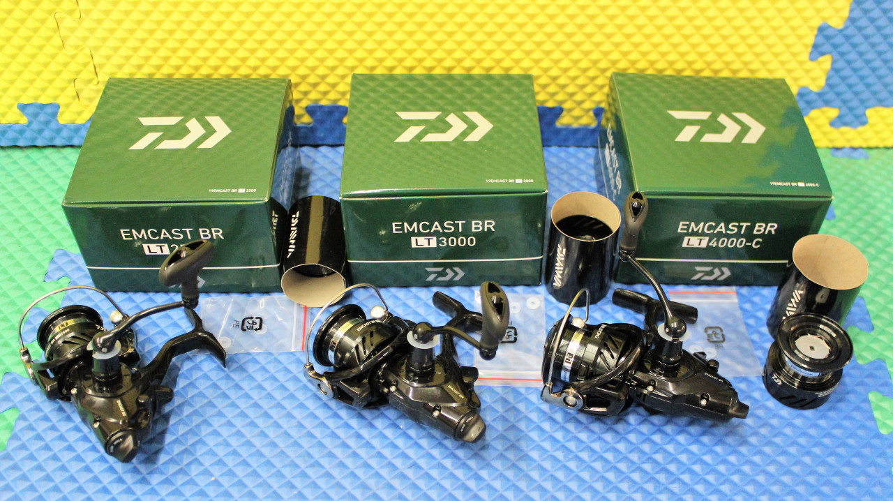 Daiwa Spinning Reels EMCAST LT BR W/Spare Spool CHOOSE YOUR MODEL!