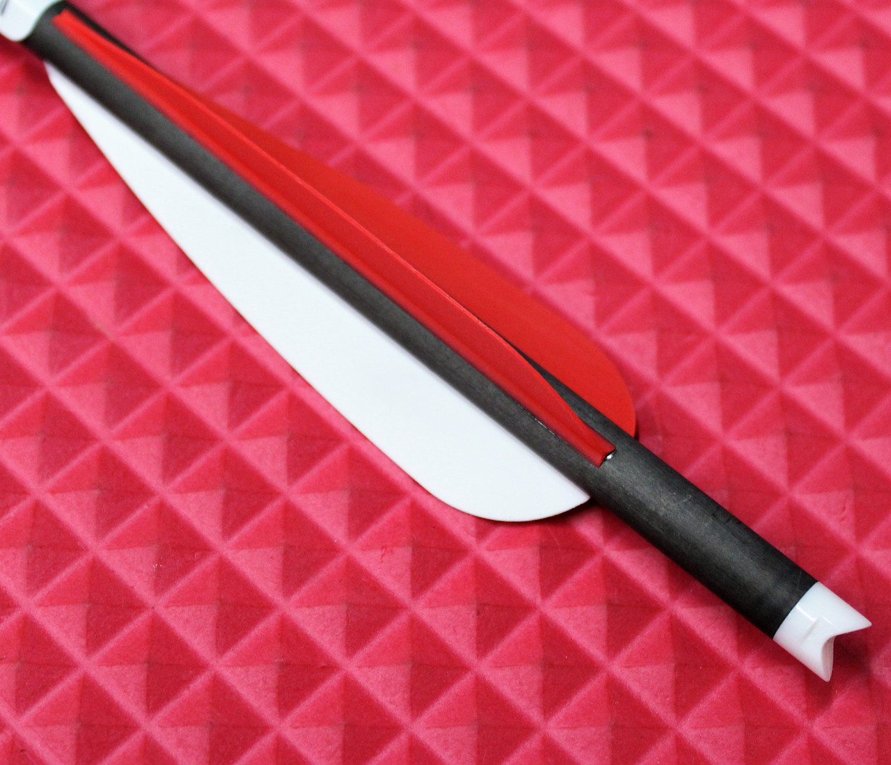 "20"" Arrow Red/Red/White Vanes"
