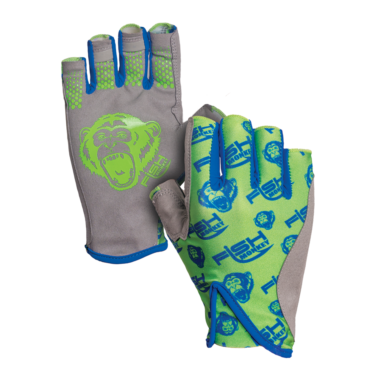 Fish Monkey Pro 365 Guide Glove FM21-NEONGREEN CHOOSE YOUR SIZE!