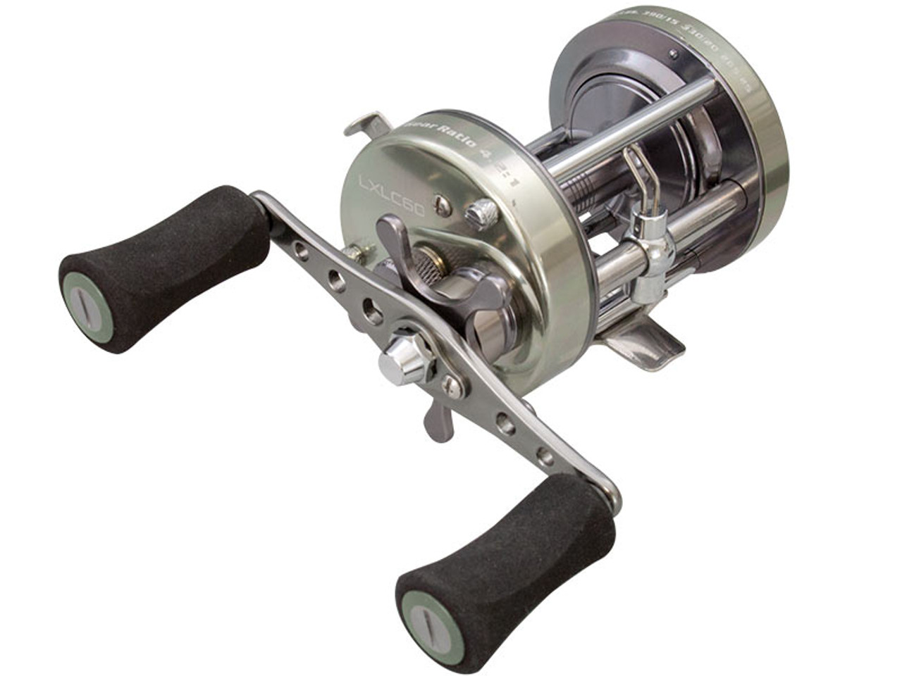 Lew's Laser XL Round Casting Reel RIGHT HANDED LXLC60