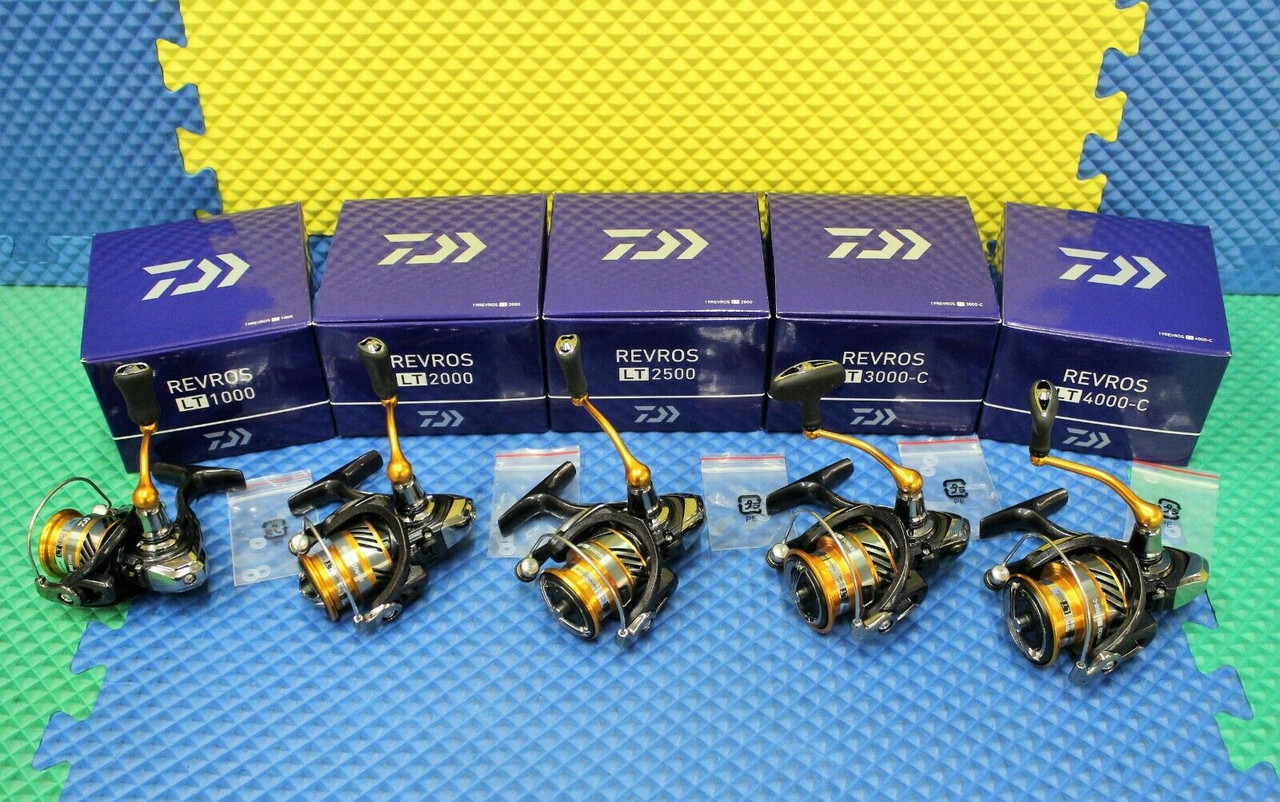 Daiwa Spinning Reels REVROS LT CHOOSE YOUR MODEL!