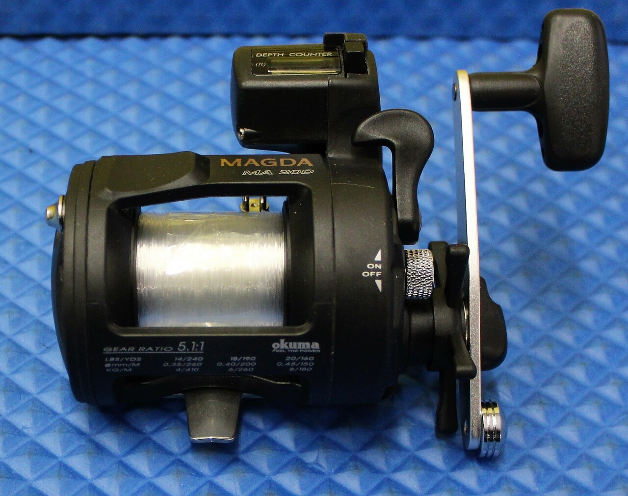 Magda MA 20D With 17lb/200yd Mono