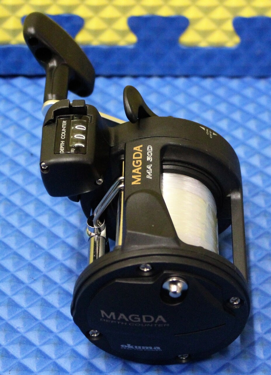 Magda MA 30D With 17lb/385yd Mono