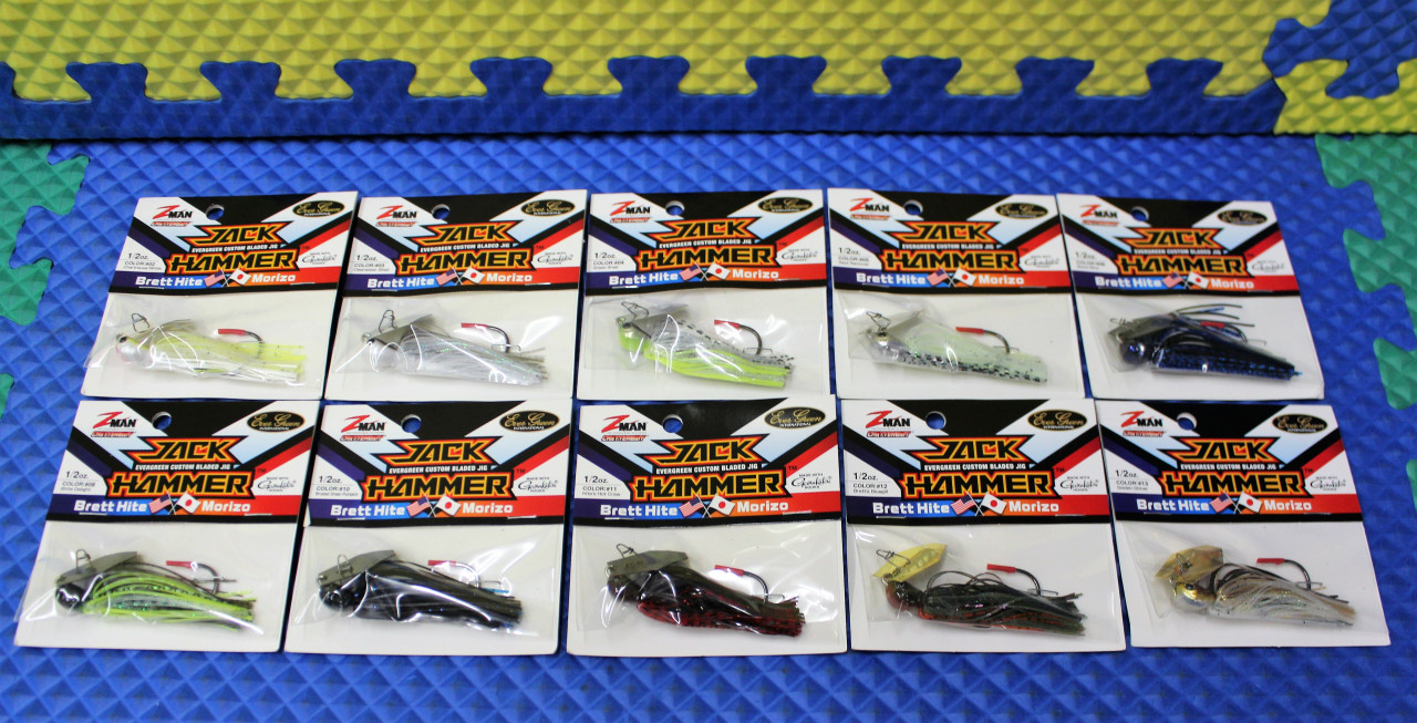 Z-MAN ChatterBait Jack Hammer 1/2 OZ CBJH12- Series CHOOSE YOUR COLOR!