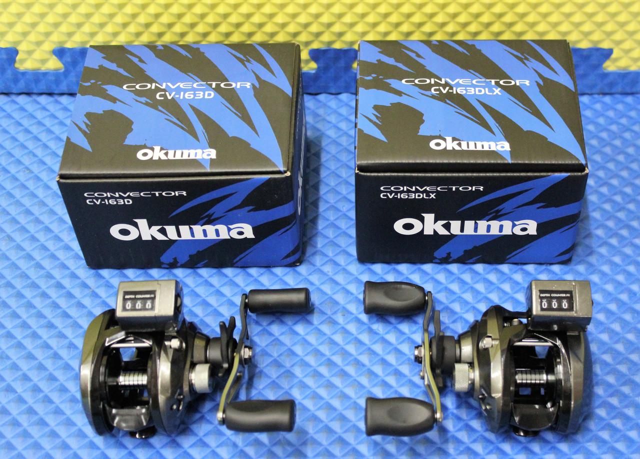 Okuma Convector Low Profile Line Counter Reels CV-163-CHOOSE YOUR MODEL!