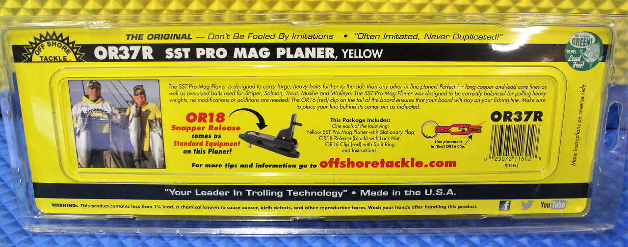 SST Pro Mag Planer Yellow OR37R RIGHT MODEL