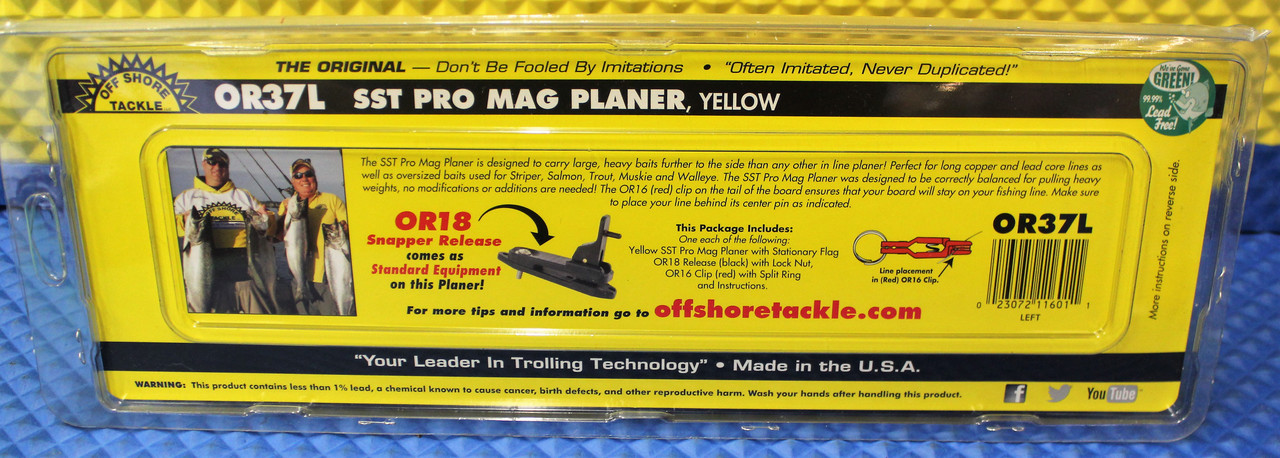 SST Pro Mag Planer Yellow OR37L LEFT MODEL