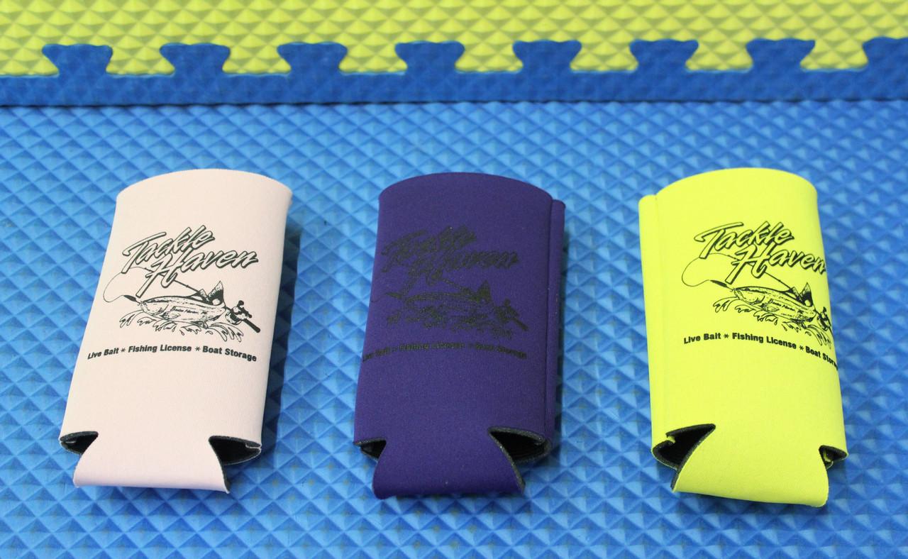 Tackle Haven Logo Slim Koozie Can Holder CHOOSE YOUR COLOR!