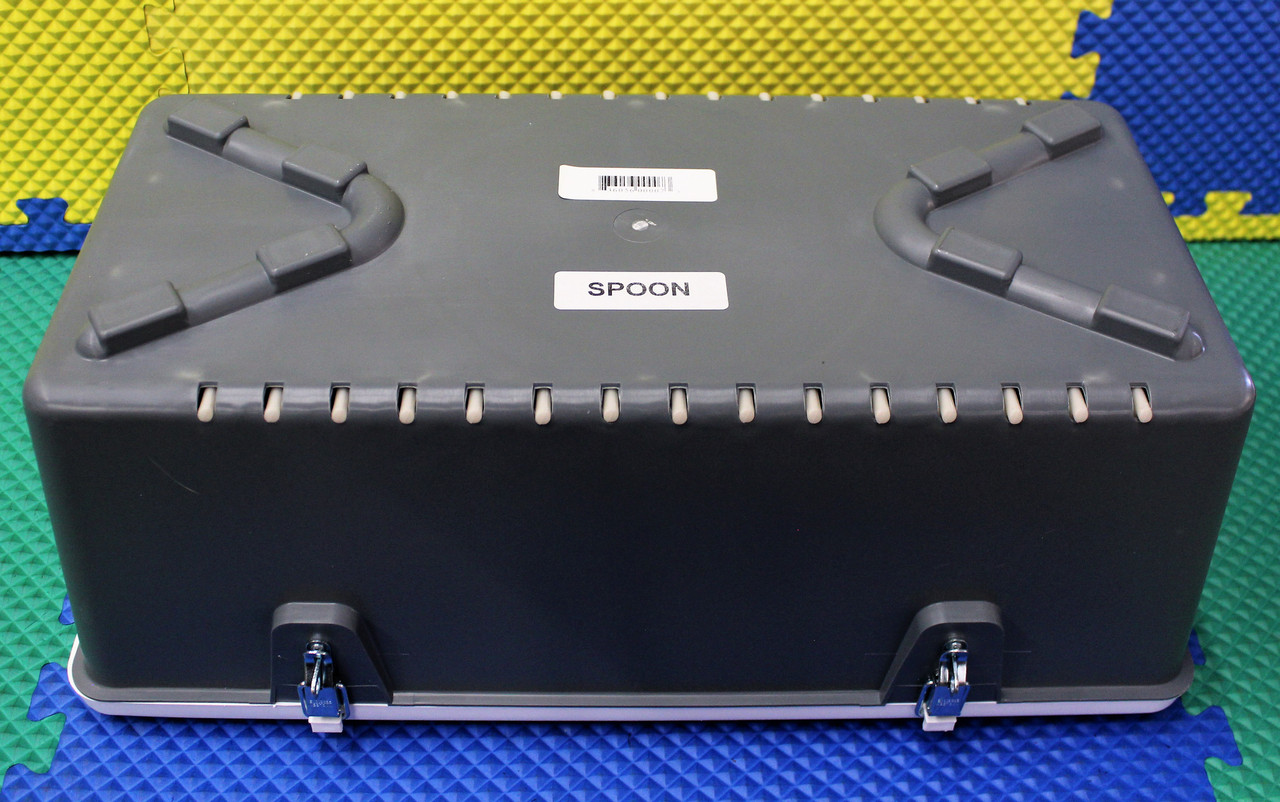 "8"" Spoon Box #8225 GRAY"