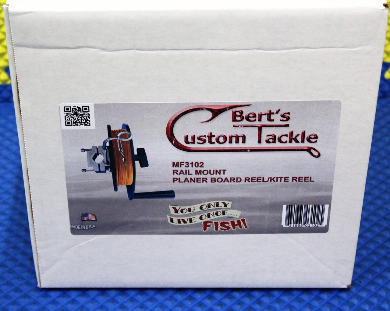 Berts Custom Tackle Rail Mount Reel