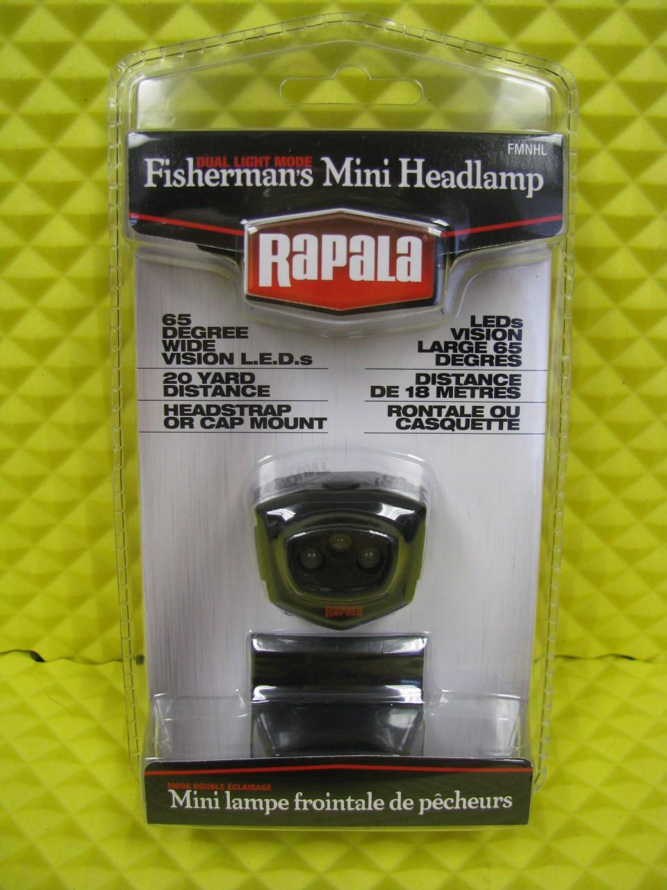 RAPALA FISHERMAN'S MINI HEADLAMP #FMNHL