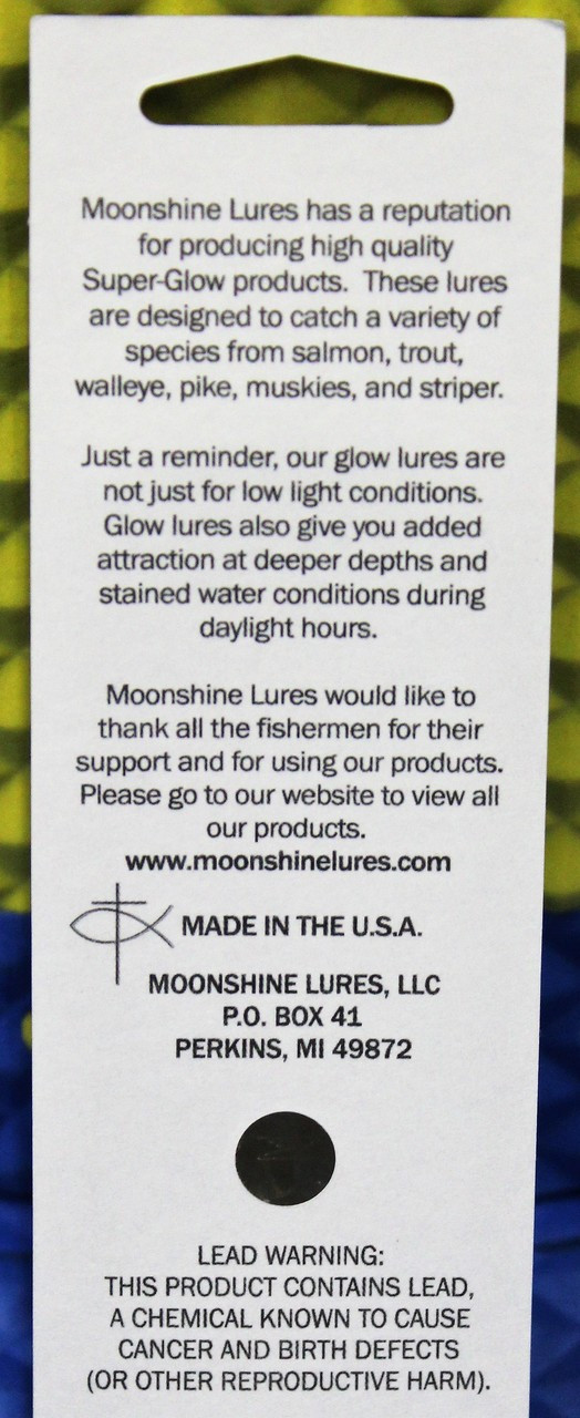 Moonshine Original Glow Spoons NEW COLORS FOR 2019 CHOOSE YOUR  SIZE AND COLOR!