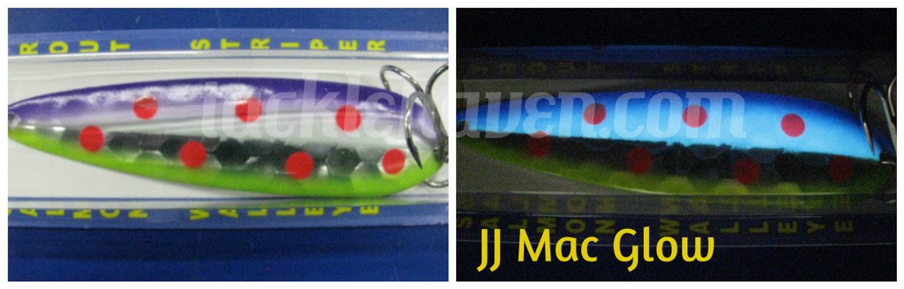 Moonshine Lures Super Glow Half Moon Series CHOOSE YOUR SIZE AND COLOR!