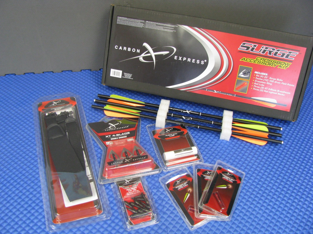 CARBON EXPRESS SURGE CROSSBOW ACCESSORY KIT 52124
