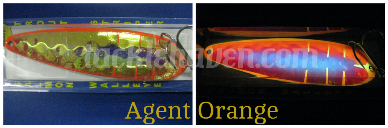 Moonshine Lures RV Series Glow Spoons CHOOSE YOUR SIZE AND COLOR!