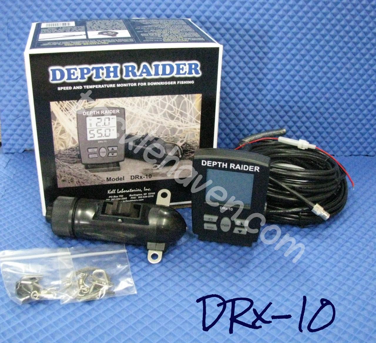 KELL DEPTH RAIDER SPEED AND TEMP UNIT #DRx-10