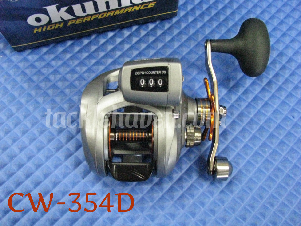 Okuma Cold Water Low Profile Line Counter Reels
