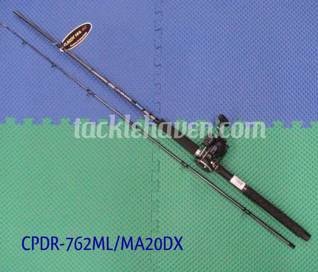 4PK Okuma Magda Pro 20DX Bobines 7/' Med Classic Pro Rod traine Combos