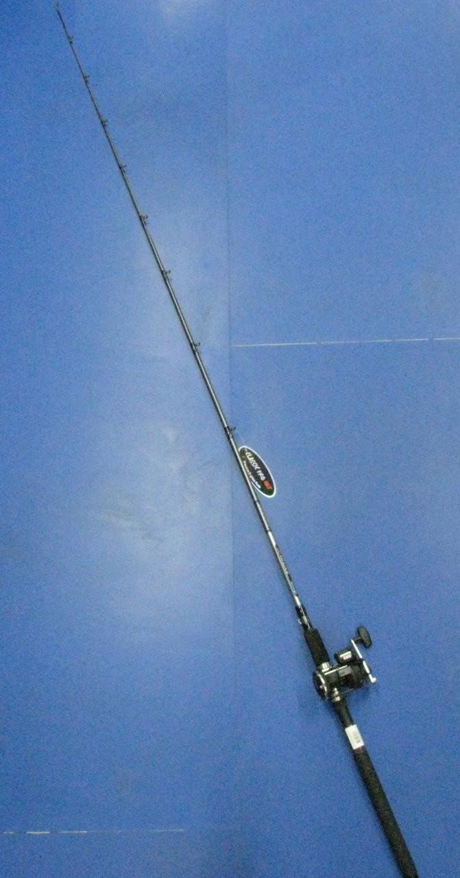 "Okuma Great Lakes 7'10"" Telescopic Line Counter Trolling Combo CP-PB-7101MT-20DX"