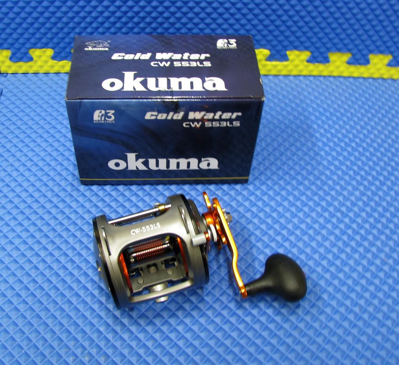 Okuma Cold Water High Speed Levelwind Trolling Reel CW-553LS