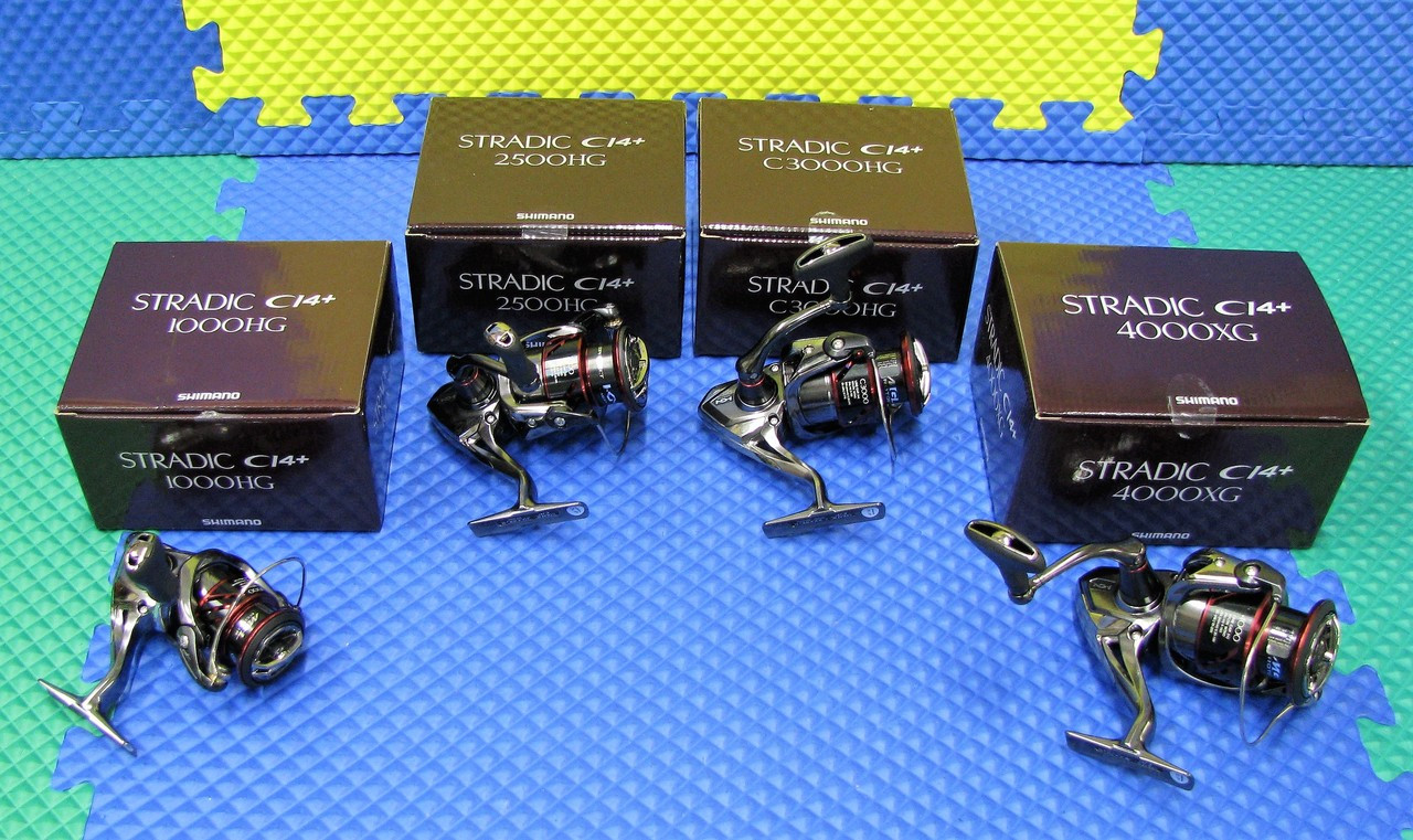 Shimano Stradic CI4+ Spinning Reels CHOOSE YOUR MODEL!!!!
