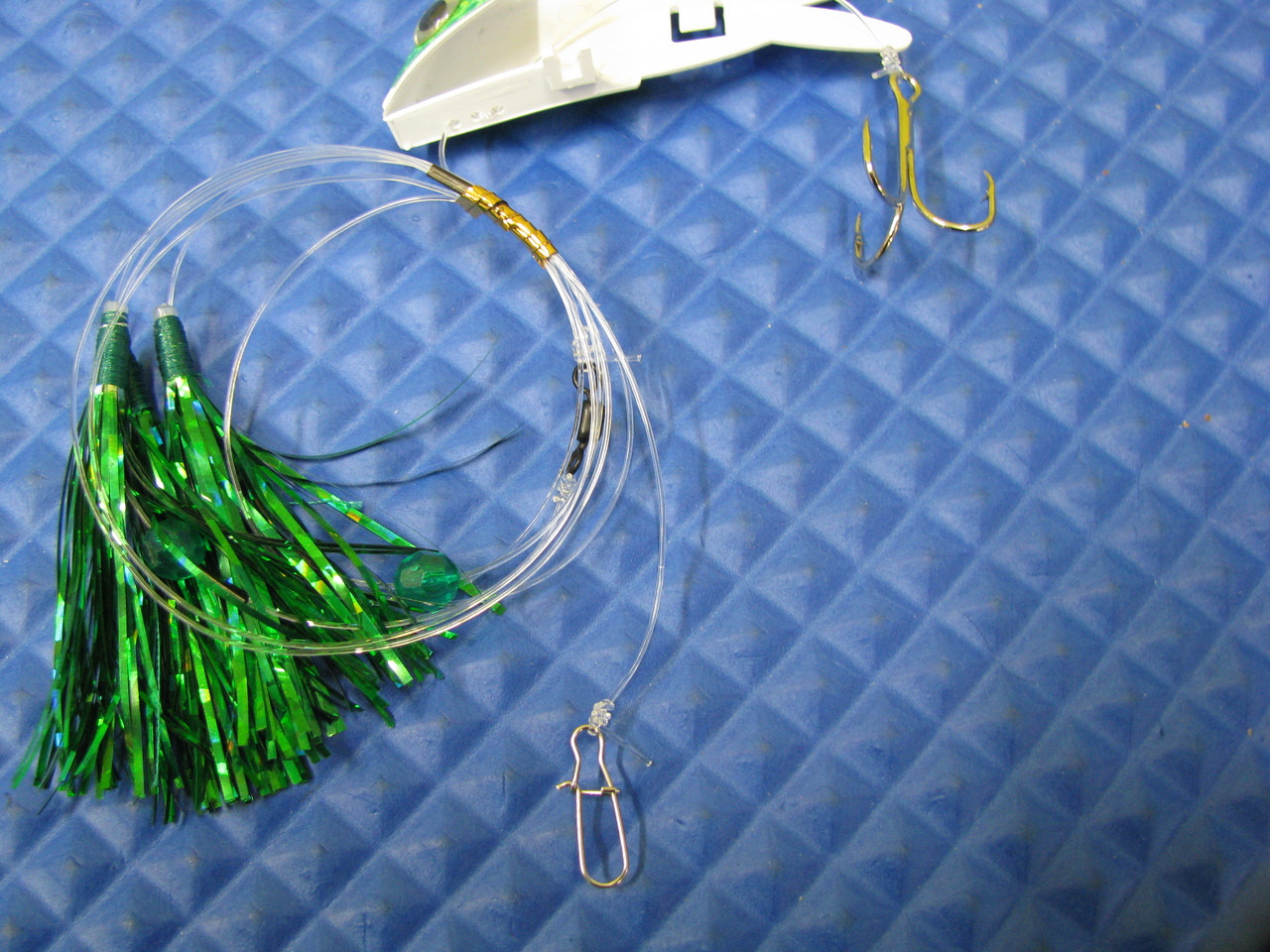 Church Tackle's Shock Wave - Rig NEW ITEM!! Bait Holder Trolling Lures EACH SOLD SEPARATELY!!  CHOOSE YOUR COLOR