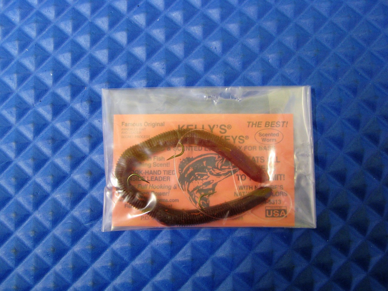 Kelly/'s Plow Jockey plastic worm *NEW* Orchid Petal*card of 12