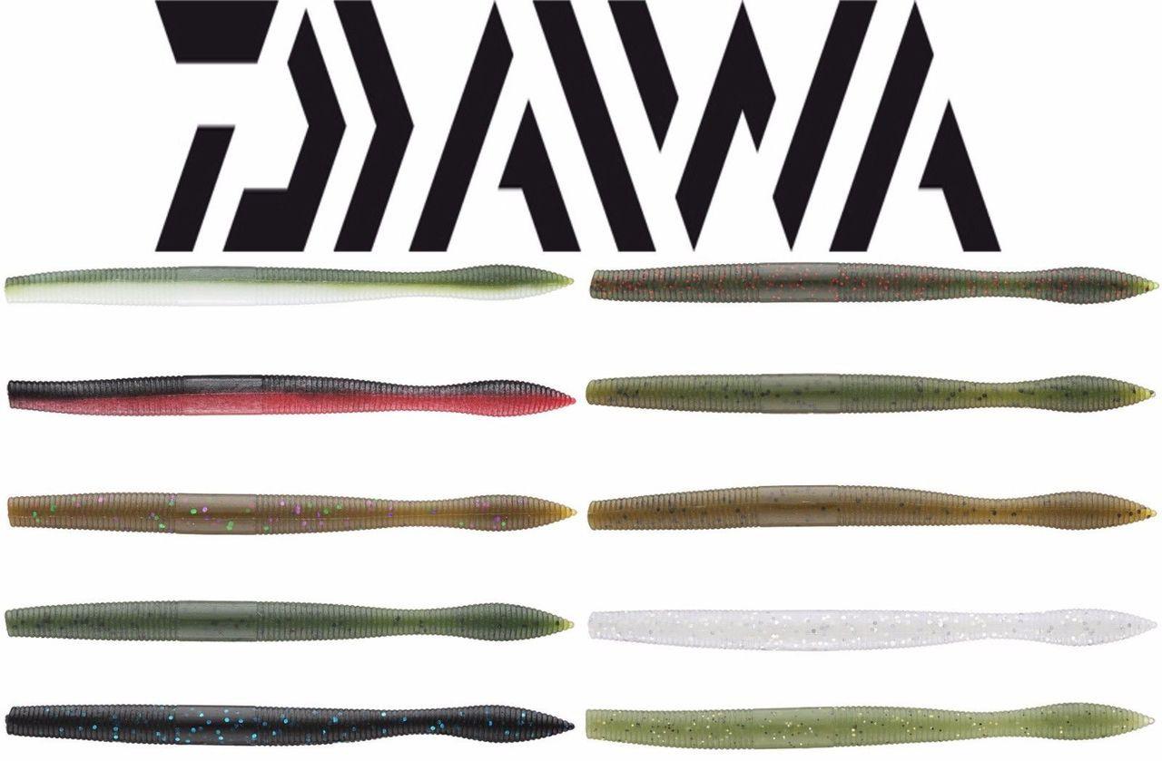 "Daiwa Neko Fat Worm 5/"" by Gary Yamamoto Various Colors"