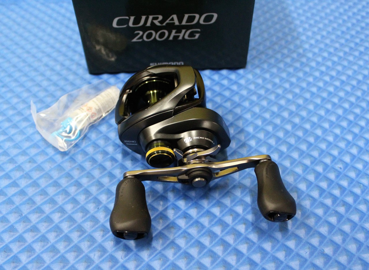 Shimano Curado K Baitcast Reel 200XG 8.5:1 Right Hand 200XGK Model CU-200XGK