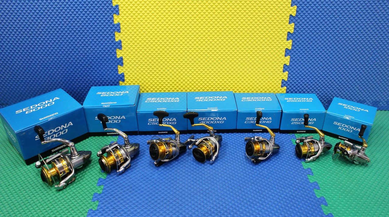 Shimano SEDONA FI Spinning Reels Blue Box CHOOSE YOUR MODEL!!