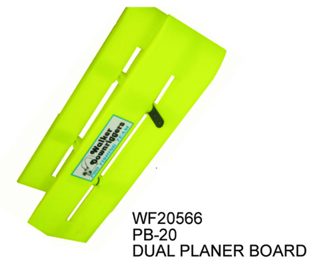 Walker Downriggers Universal Dual Collapsible Reversible Planer Board PB-20 WF20566