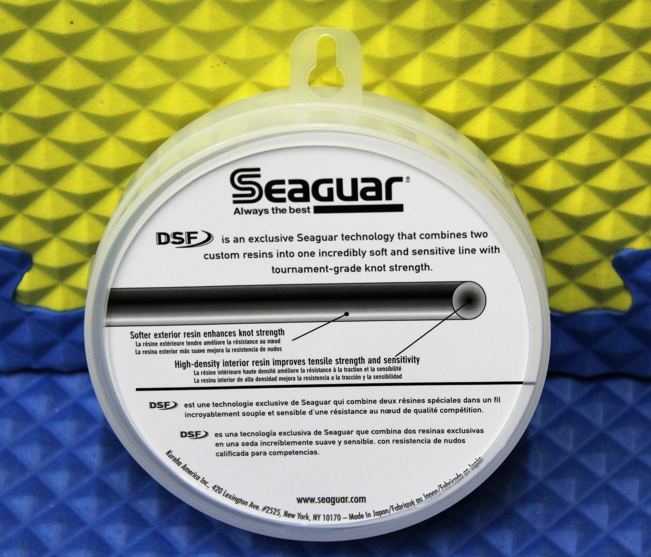 Seaguar Original Blue Label 100% Fluorocarbon Leader Material CHOOSE YOUR MODEL!